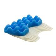 Набор микрофильтров для пылесоса SAMSUNG, губчатый фильтр-1 шт., микрофильтр-5 шт., многоразовый моющийся, бренд: OZONE, арт. HS-10, тип оригинального фильтра: DJ97-01040