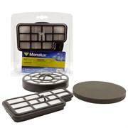 F138 Набор синтетических фильтров Menalux для пылесоса AEG, ZANUSSI, TORNADO, 2 шт.