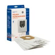 Мешки-пылесборники сменные синтетические 4 шт улучшенной фильтрации для пылесоса AIRMATE, DIRT DEVIL, NILFISK, PHILIPS